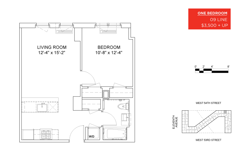 Luxury no fee midtown apartment rentals mercedes house for Mercedes homes floor plans